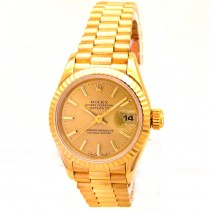 26mm Rolex Yellow Gold President Datejust 69178