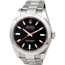 40mm Rolex Stainless Steel Milgauss  Black 116400