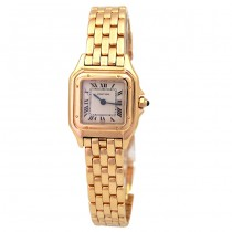Small Cartier 18k Yellow Gold Panthere Watch W25022B9.