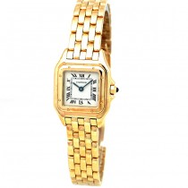 Small Cartier Gold Panthere Watch