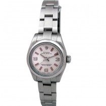 26mm Rolex Stainless Steel Oyster Perpetual Watch 176200