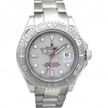 40mm Rolex Steel Yachtmaster Platinum 16622.