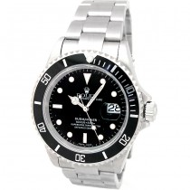 40mm Rolex Steel Submariner 16610.
