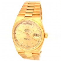 36mm Rolex 18K Yellow Gold Oyster-Quartz Daydate 19018.