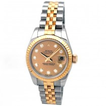 26mm Rolex Two-Tone Datejust Diamond Dial 179173.