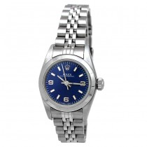 26mm Rolex Stainless Oyster Perpetual Blue 67180.