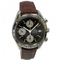 38mm Omega Stainless Steel Speed Master Watch 375.0043.