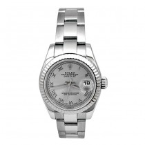 26mm Rolex Stainless Datejust Watch Rhod Dial 179174.