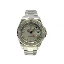 35mm Rolex Stainless Steel Oyster Perpetual Yachtmaster 168622.