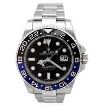 40mm Rolex Stainless Steel GMT-Master II Batman 116710BLNR