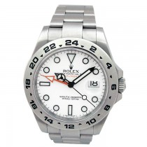 42mm Rolex Stainless Explorer II 216570.