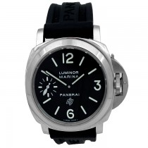 44mm Panerai Luminor Marina Logo Accicaio PAM01005.