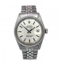 36mm Rolex Stainless Steel Oyster Perpetual Datejust Watch 1601