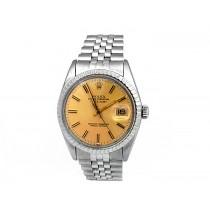36mm Rolex Stainless Steel Datejust Watch 16030.