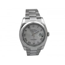 36mm Rolex Stainless Steel Datejust Watch 116200.