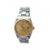 36mm Rolex Stainless Steel Oyster Perpetual Datejust Watch 1600