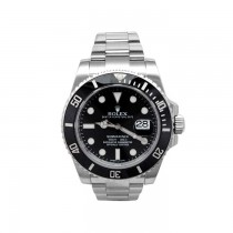 40mm Rolex Stainless Steel Oyster Perpetual Submariner Watch 116610LN