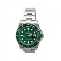40mm Rolex Stainless Steel Oyster Perpetual Submariner Watch 116610LV