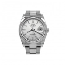 36mm Rolex Stainless Steel Oyster Perpetual Datejust Watch 116234