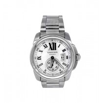 42mm Cartier Stainless Steel Calibre Chronograph Watch W7100015