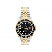 Rolex 18k Yellow Gold and Stainless Steel GMT-Master II Watch 34580