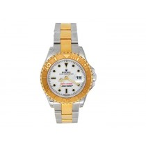 Rolex 18k Yellow Gold and Stainless Steel Yachtmaster Watch 34615