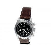 Tudor Stainless Steel Heritage Black Bay Watch 34670