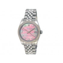 31mm Rolex Stainless Steel Oyster Perpetual Datejust Watch