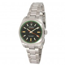 40mm Rolex Stainless Steel Oyster Perpetual Milgauss Watch