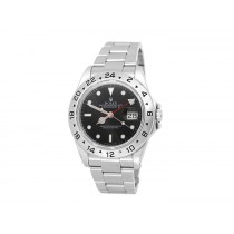 40mm Rolex Stainless Steel Oyster Perpetual Explorer II Watch