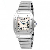 29mm Cartier Stainless Steel Santos Galbee Watch