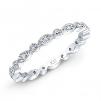 WHITE GOLD INSPIRED FASHION DIAMOND BAND