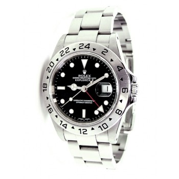 40mm Rolex Stainless Steel Explorer II 16570