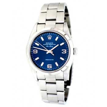 34mm Rolex Airking Blue Dial 14000
