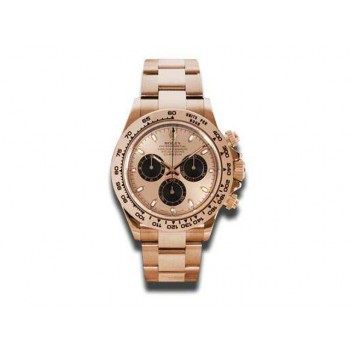 Men's Rolex 18k Rose Gold Daytona Cosmograph 116505.
