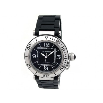 Men's Cartier Stainless Steel Pasha Sea Timer W31077U2.