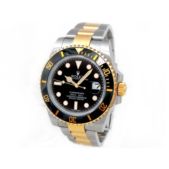 Men's Rolex  Two-Tone Submariner Ceramic 116613.