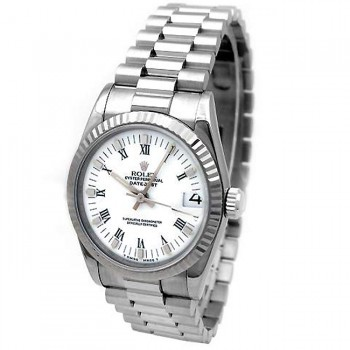 31mm Rolex 18K White Gold President Datejust  68279.