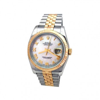 Mens Rolex Two-Tone Datejust 116233