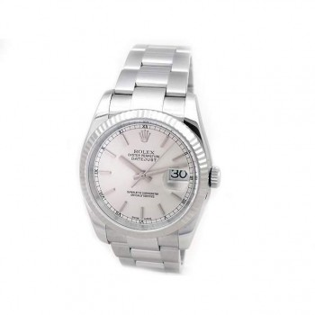 Mens Rolex Stainless Steel Datejust 116234