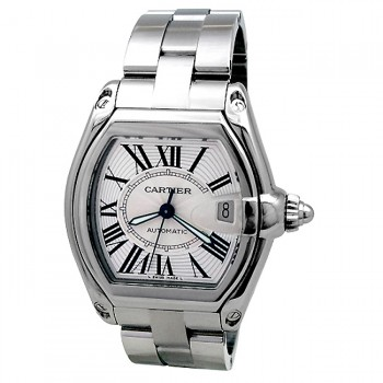 Large Cartier Stainless Steel Roadster W62025V3