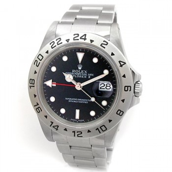 Mens Rolex Stainless Steel Explorer II 16570
