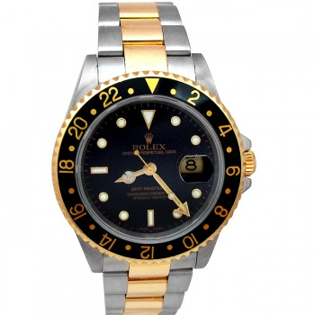 40mm Rolex Two-Tone GMT-Master II Watch 16713