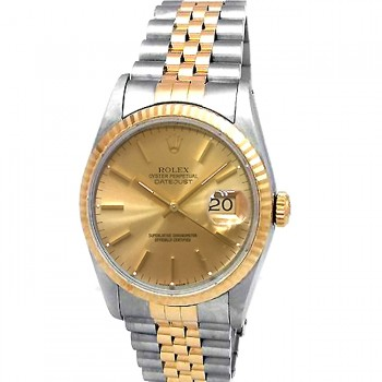 36mm Rolex Two-Tone Datejust 16233.