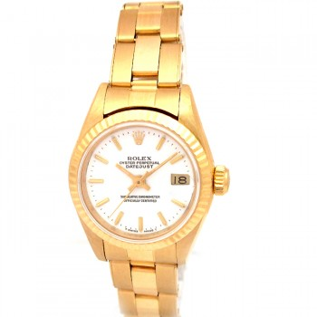 26mm Rolex 18K Yellow Gold Oyster Datejust 69178