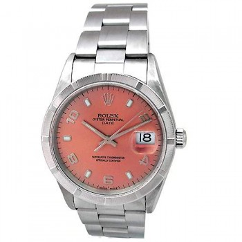 34mm Rolex Stainless Date 15210.