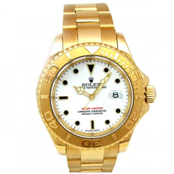 40mm Rolex Gold Yachtmaster 16628