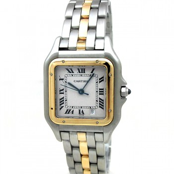 Large Cartier  Panthere Two Tone Watch