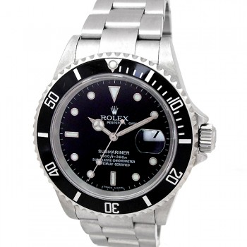 40mm Rolex Stainless Steel Submariner 16610.