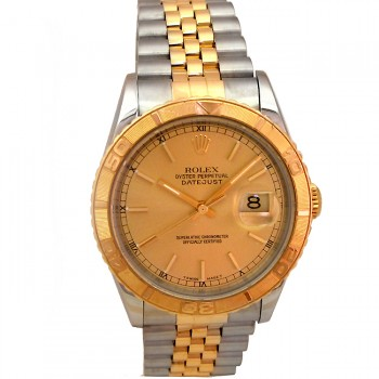 36mm Rolex Two-Tone Datejust Turn-o-graph 16263.